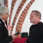 Siegmar Burdag beim Interview